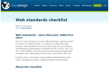 http://www.maxdesign.com.au/articles/checklist/