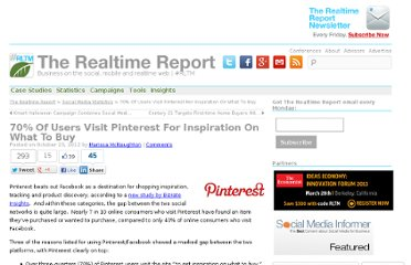 http://therealtimereport.com/2012/10/23/70-of-users-visit-pinterest-for-inspiration-on-what-to-buy/