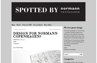 http://spottedbynormanncopenhagen.com/2010/06/28/design-for-normann-copenhagen/#more-6193