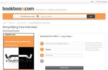 http://bookboon.com/en/textbooks/career-job-search/demystifying-case-interviews