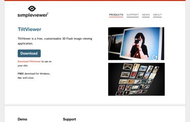 http://www.simpleviewer.net/tiltviewer/
