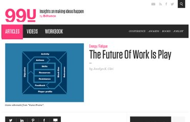 http://99u.com/articles/7010/The-Future-Of-Work-Is-Play