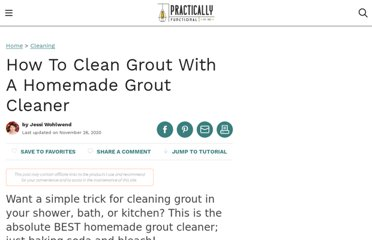 http://practicallyfunctional.net/2012/06/make-your-own-grout-cleaner/