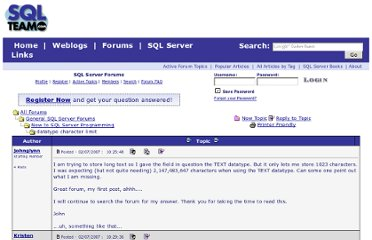 http://www.sqlteam.com/forums/topic.asp?TOPIC_ID=78744