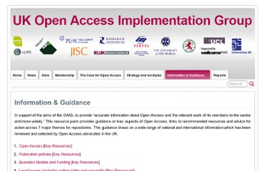 http://open-access.org.uk/information-and-guidance/