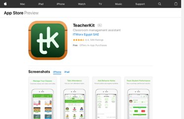 https://itunes.apple.com/us/app/teacherkit/id389584618?mt=8