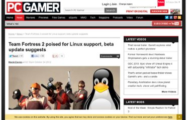 http://www.pcgamer.com/2012/10/24/team-fortress-2-poised-for-linux-support-beta-update-suggests/