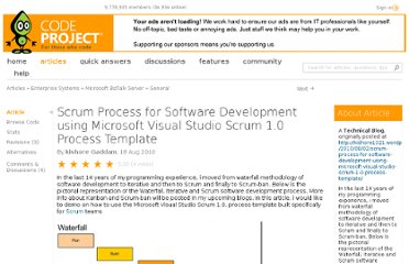 http://www.codeproject.com/Articles/99269/Scrum-Process-for-Software-Development-using-Micro