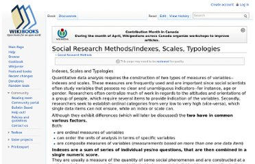 http://en.wikibooks.org/wiki/Social_Research_Methods/Indexes,_Scales,_Typologies