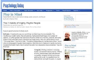 http://www.psychologytoday.com/blog/play-in-mind/201210/the-7-habits-highly-playful-people