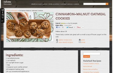 http://www.wholefoodsmarket.com/recipe/cinnamon-walnut-oatmeal-cookies