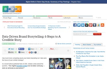 http://www.business2community.com/content-marketing/data-driven-brand-storytelling-6-steps-to-a-credible-story-0310135