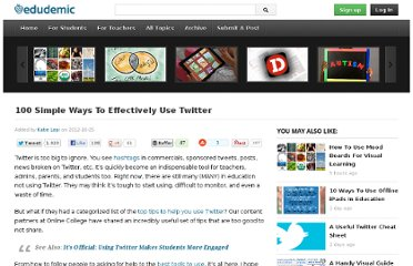 http://edudemic.com/2012/10/simple-ways-to-use-twitter/