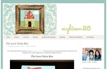 http://eighteen25.blogspot.com/2010/11/love-notes-box.html