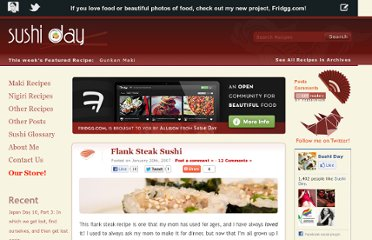 http://sushiday.com/archives/2007/01/20/flank-steak-sushi/