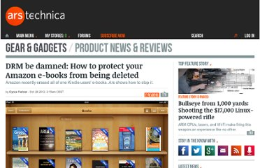 http://arstechnica.com/gadgets/2012/10/drm-be-damned-how-to-protect-your-amazon-e-books-from-being-deleted/