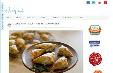 http://chezus.com/2012/01/02/olive-and-goat-cheese-turnovers/
