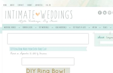 http://www.intimateweddings.com/blog/diy-ring-bowl-made-from-oven-bake-clay/