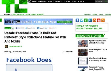 http://techcrunch.com/2012/10/25/facebook-collections-shut-down/