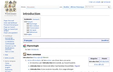 http://fr.wiktionary.org/wiki/introduction