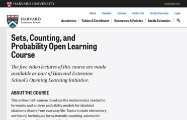 http://www.extension.harvard.edu/open-learning-initiative/sets-counting-probability
