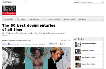 http://www.timeout.com/los-angeles/film/the-50-best-documentaries-of-all-time