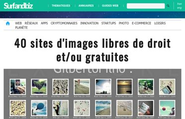 http://www.surfandbiz.com/article/40-sites-images-libres-de-droit.htm#.UIkmKbwGohQ.twitter