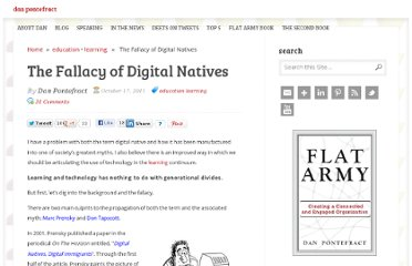 http://www.danpontefract.com/the-fallacy-of-digital-natives/