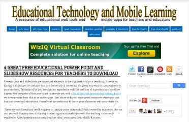 http://www.educatorstechnology.com/2012/07/4-great-free-educational-power-point.html#