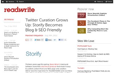 http://readwrite.com/2011/07/08/twitter_curation_grows_up_storify_becomes_blog_seo