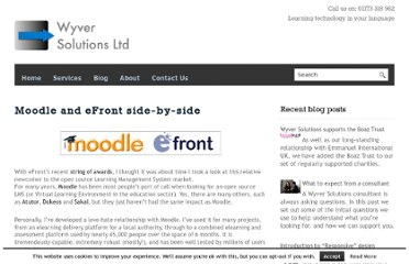http://www.wyversolutions.co.uk/cms/2012/10/02/moodle-and-efront-side-by-side/