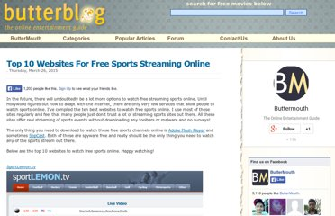 http://blog.buttermouth.com/2012/05/top-10-websites-to-sports-streaming.html