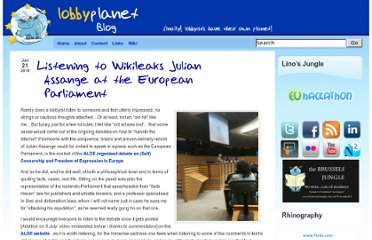 http://www.lobbyplanet.eu/listening-to-wikileaks-julian-assange-at-the-european-parliament/