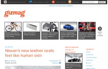 http://www.gizmag.com/nissan-leather-seats-human-skin-like/24744/