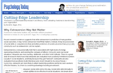 http://www.psychologytoday.com/blog/cutting-edge-leadership/201110/why-extraversion-may-not-matter
