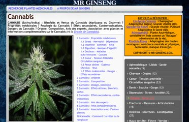 http://mr-ginseng.com/cannabis/#Stress_8211_Nervosit_8211_Dpression