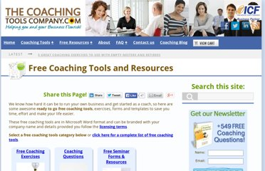 http://www.thecoachingtoolscompany.com/free_coaching_tools/