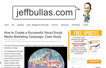 http://www.jeffbullas.com/2012/10/29/how-to-create-a-successful-visual-social-media-marketing-campaign-case-study/