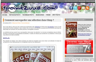 http://www.1point2vue.com/sauvegarder-selection-gimp/