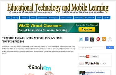 http://www.educatorstechnology.com/2012/10/teachem-create-interactive-lessons-from.html