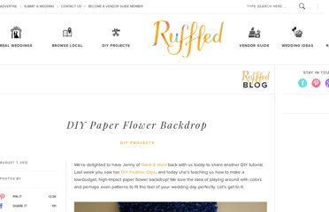 http://ruffledblog.com/diy-paper-flower-backdrop/