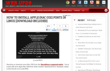 http://www.webupd8.org/2010/06/how-to-install-apple-mac-osx-fonts-in.html