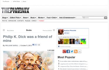 http://thephoenix.com/boston/arts/145111-philip-k-dick-was-a-friend-of-mine/