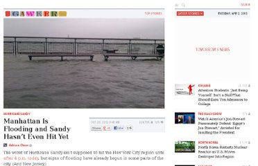http://gawker.com/5955757/battery-park-is-underwater-and-sandy-hasnt-even-hit-yet