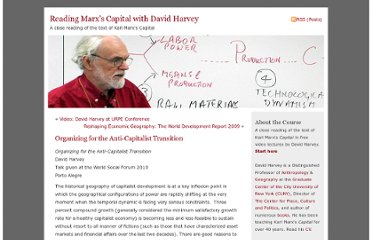 http://davidharvey.org/2009/12/organizing-for-the-anti-capitalist-transition/