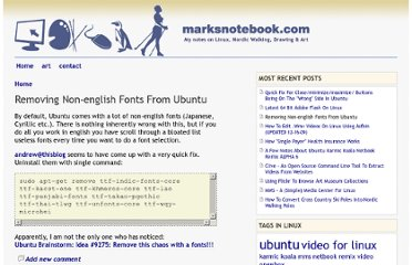 http://marksnotebook.com/ubuntu/removing-non-english-fonts-ubuntu#comment-48