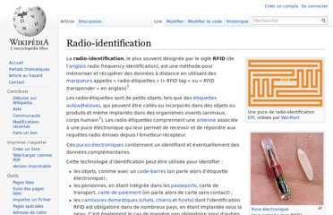 http://fr.wikipedia.org/wiki/Radio-identification