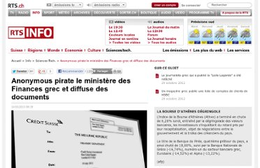 http://www.rts.ch/info/sciences-tech/4389087-anonymous-pirate-le-ministere-des-finances-grec-et-diffuse-des-documents.html