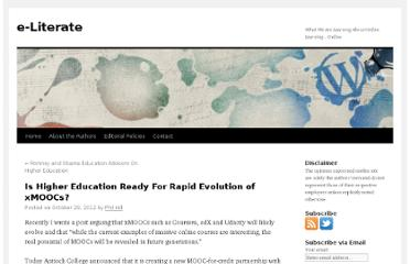 http://mfeldstein.com/is-higher-education-ready-for-rapid-evolution-of-xmoocs/
