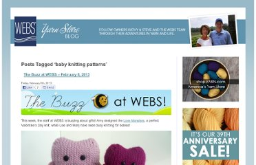 http://blog.yarn.com/tag/baby-knitting-patterns/